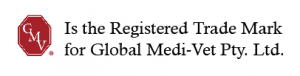 GMV Registered Trade Mark for Global Medi-Vet Pty. Ltd.