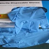 Hospital Quality Nitrile Latex Free Wrist Length Gloves